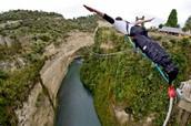Zip-lining in New Zealand