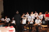Frost Middle School Jazz Band