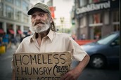 people homeless
