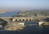 The Aswan High Dam.