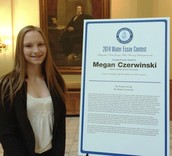 Megan Czerwinski Wins Clean Water Essay Contest; Recognized at State Capitol
