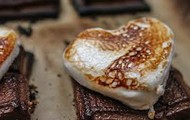Roasted Marshmallow Heart