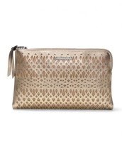 Metallic Perf Double Clutch