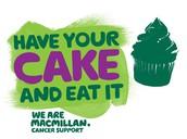 MacMillan Cake Sales! FRIDAY 30 SEPTEMBER