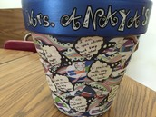 Anaya's Silent Auction Flower Pot