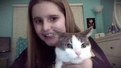 Me and my kitten Hunter