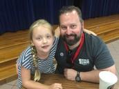 Sean Smith & daughter Saige