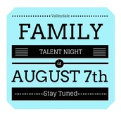 Family Talent Night @ Valleydale