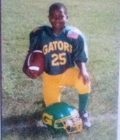 Eric Playing for the Norfolk Gators