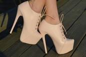 Zapatos de Tacón Alto de Color Pastel
