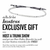 Don't want to risk it then contact me and book your own trunk show!