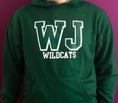 Green hoodie - $20