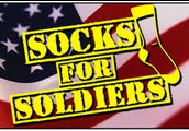 Donate a pair of new socks to soldier's in Afghanistan
