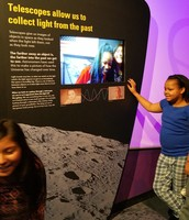 Exploring each other with Telescopes