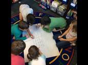 Math Chalk Talk in action!