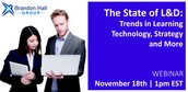 The State of L&D: Trends in Learning Technology, Strategy, and More
