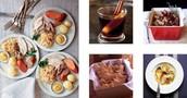 Foods traditionally  eaten