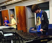 Concert Band Percussionists