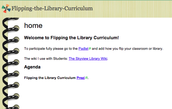 """Flipping"" the library curriculum"
