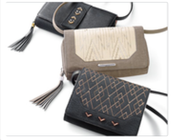 Crossbody wallets and clutches