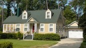 Colonial Revival-New England Cape Cod