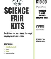 Science Fair Kits on Sale Now!