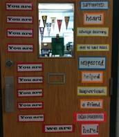What does your classroom door say about you?