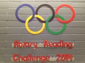 5th Annual Rotary Reading Challenge is underway!
