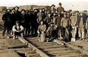 Workers For C.P.Rail