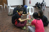 Glow Stick Tower Competition