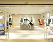 Dior boutique at Bergdorf Goodman in New York