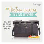 Hostess Special - Fold-Over Weekender
