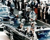 JFK in His Car