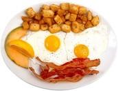 My three favorite breakfast foods are...