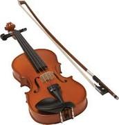 Su actividad favorita violín.