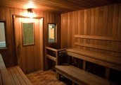 Come Relax in Our Famous Wood Sauna