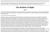 English Petition of Rights
