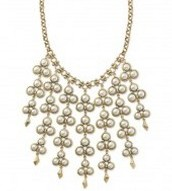 Dahlia Bib Necklace was £80 now £35