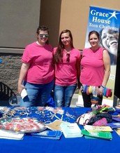 Look for Our Grace House ladies at Storefronts