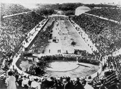 Athens held the first olympics!