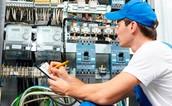 inspección eléctrica en tableros de distribución