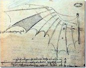 Leonardo's first invention, the wings.