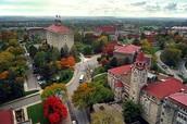 University of Kansas in Lawrence, KS