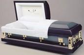 Tradtional caskets
