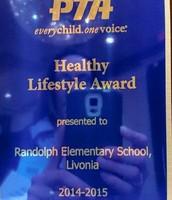 Healthy Lifestyles Award