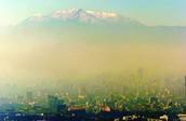 Smog Over Mexico City