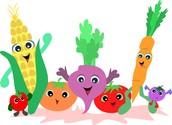 Comer más vegetables y frutas.