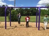 Superintendent and BOE Members Swinging