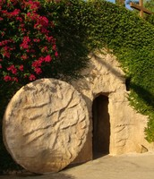 see the tomb which Jesus was laid in