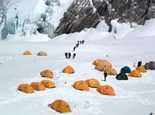 Camp 5 & 6 at Everest